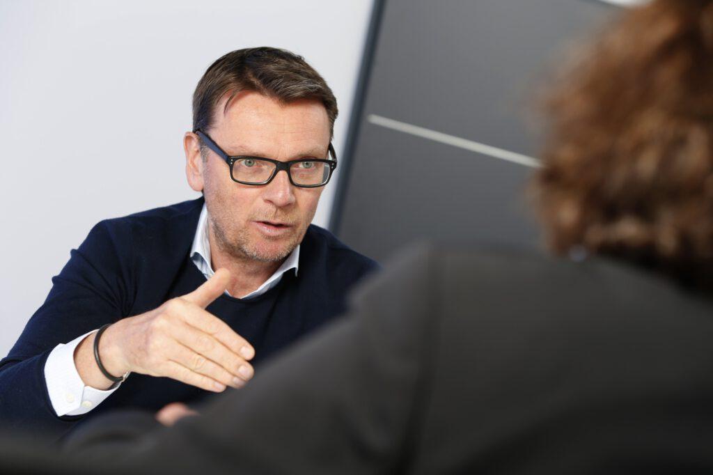 Geschäftsführer Jochen Schneider