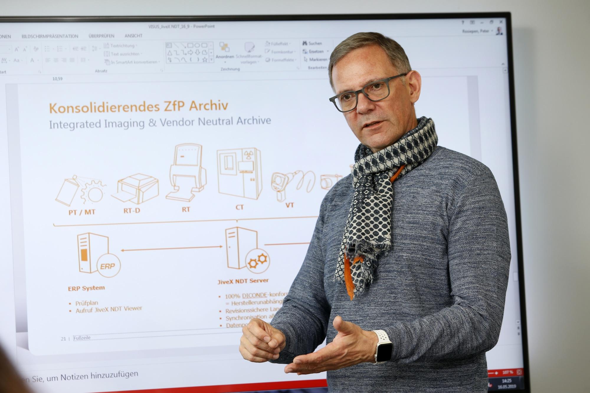 Peter Rosiepen von der VISUS Industry